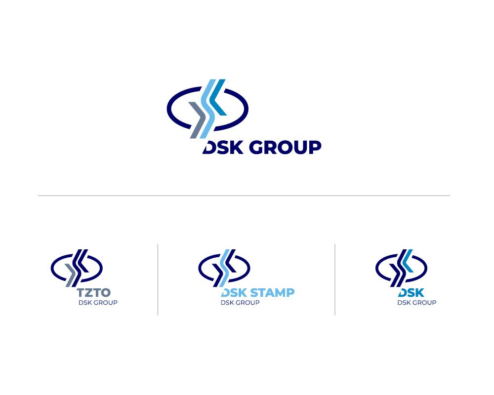Согласованный логотип и варианты его трансформации под предприятия Холдинга.